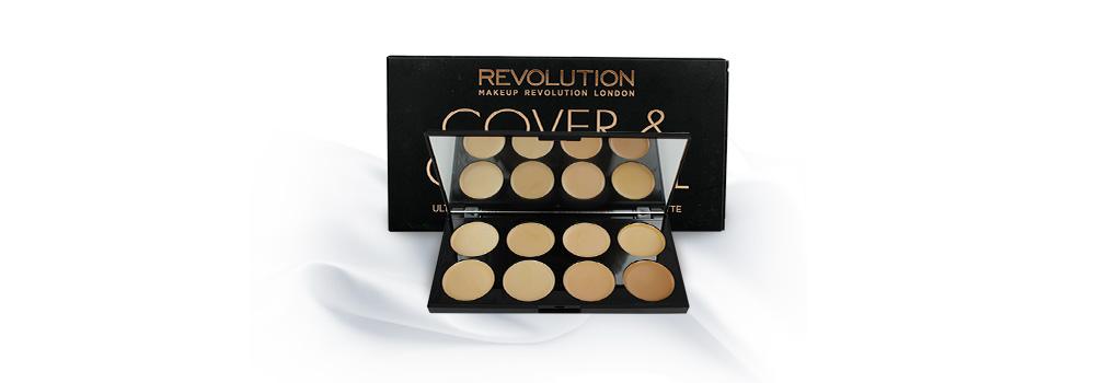 Makeup Revolution Ultra Professional Cover & Conceal Palette 13g #Light-Medium