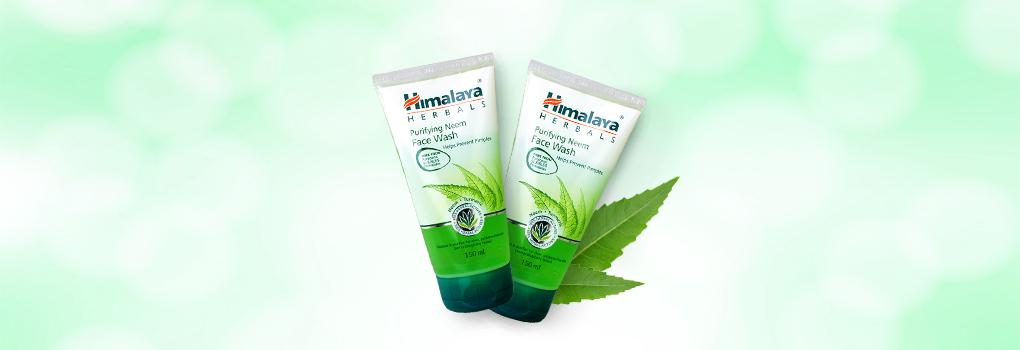 [แพ็คคู่] Himalaya Herbals Purifying Neem Face Wash [150ml x 2pcs]