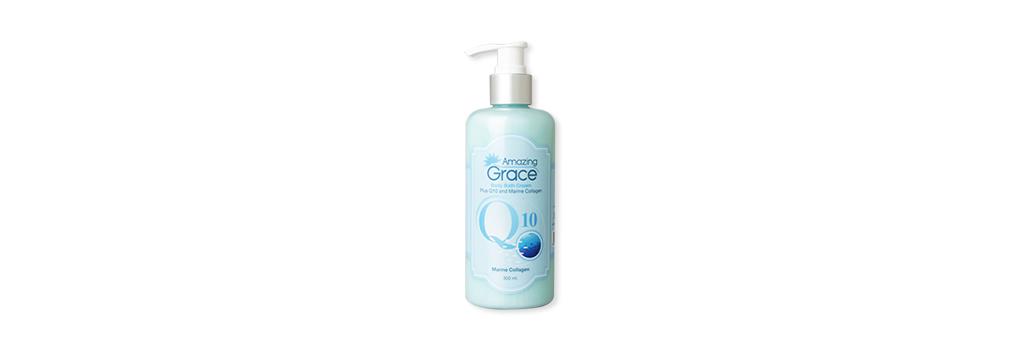 Amazing Grace Body Bath Cream Plus Q10 and Marine Collagen 300ml ( สินค้าหมดอายุ : 2021.12 )