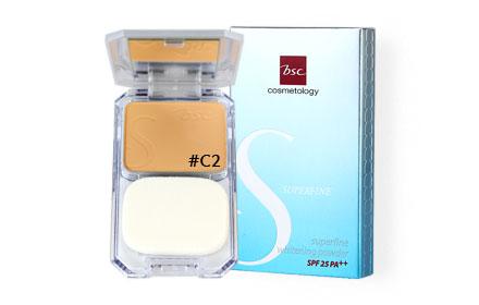 BSC Superfine Whitening Powder Foundation SPF25 PA++ 10g #C2