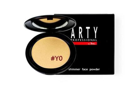 Arty Professional Shimmer Face Powder 12g #Y0