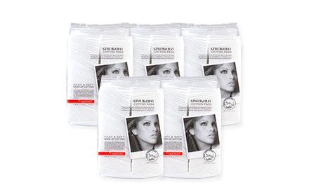 [แพ็คห้า] Beauty Buffet GINO McCRAY The Artist Cotton Pad [100pcs x 5pack]