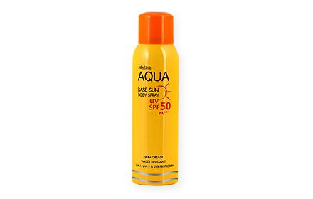 Mistine Aqua Base Sun Body Spray SPF50/PA+++ 100ml