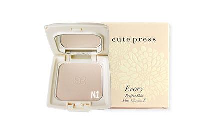 Cute Press Evory Perfect Skin Plus Vitamin E Foundation Powder #N1 (13g)