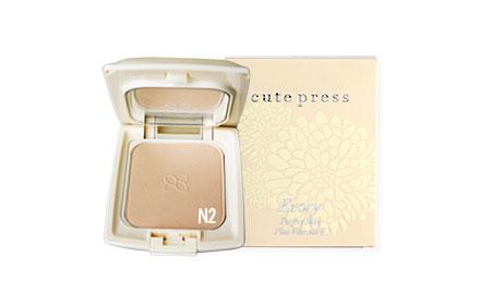 Cute Press Evory Perfect Skin Plus Vitamin E Foundation Powder # N2 (13g)