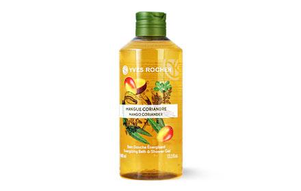 Yves Rocher Energizing Bath & Shower Gel 400ml #Mango Coriander