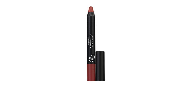 Golden Rose Matte Lipstick Crayon #21