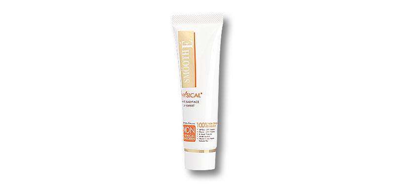 Smooth E Physical White Babyface UV Expert SPF50+/PA+++ Beige 15g