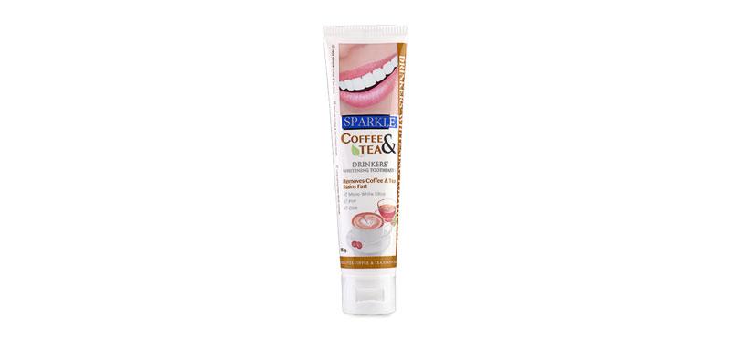 Sparkle Coffee&Tea Drinkers White Toothpaste 90g [SK0182]