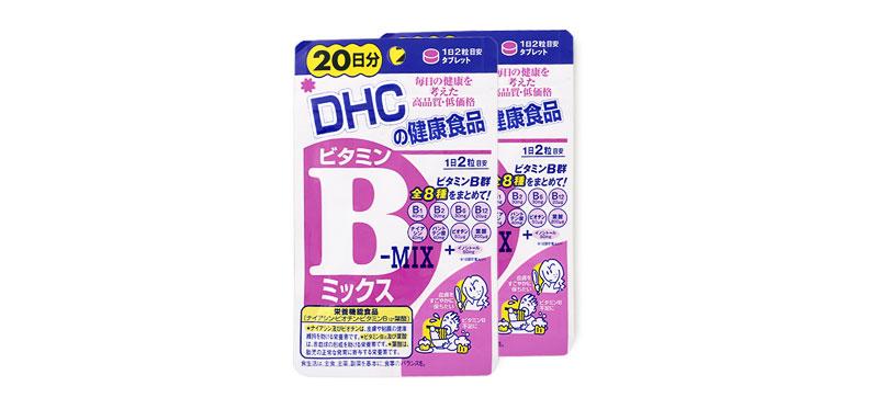 [แพ็คคู่] DHC Vitamin B-MIX 20 Days [20Days x 2]