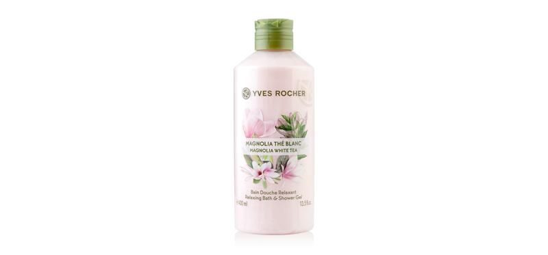Yves Rocher Relaxing Bath & Shower Gel 400ml #Magnolia White Tea