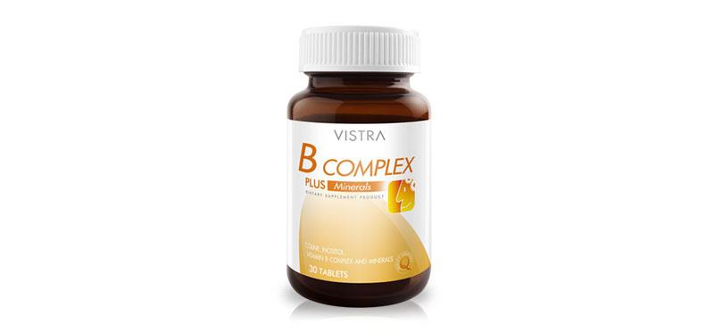 Vistra B-Complex Plus Minerals 30 Tablets