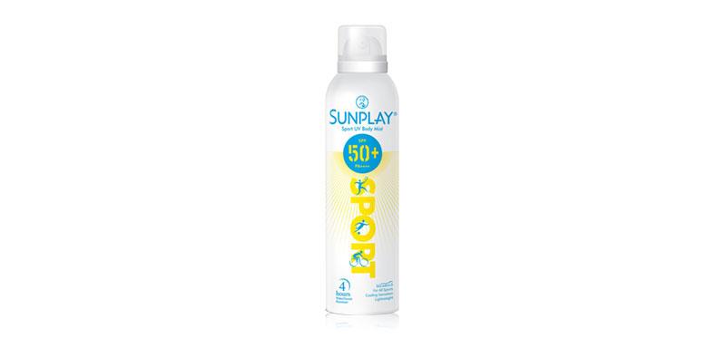 Sunplay Sport UV Body Mist SPF50+/PA++++ 165ml