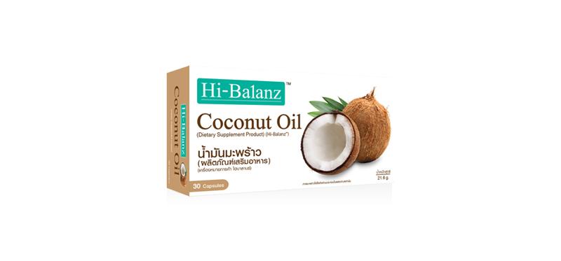 Hi-Balanz Coconut Oil 30 Capsules