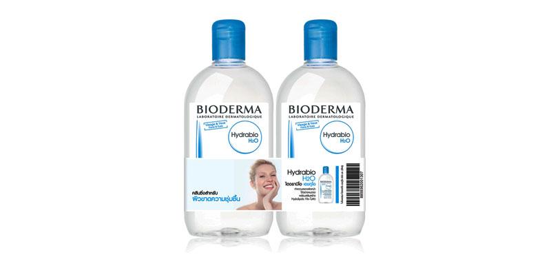Bioderma Hydrabio H2O [500ml x 2pcs]
