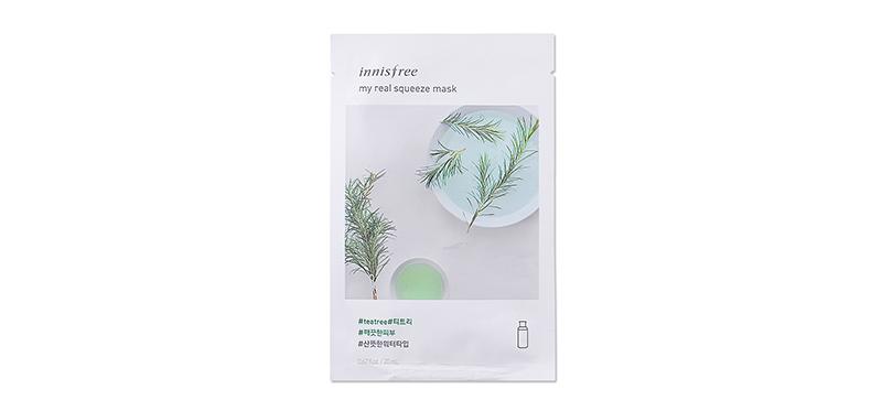 Innisfree My Real Squeeze Mask Tea Tree 20ml