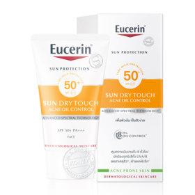 ฟรี! Eucerin Sun Dry Touch Oil Control Face SPF50+ 20ml (1 ชิ้น / 1 ออเดอร์) เมื่อช้อปสินค้า Eucerin ที่ร่วมรายการครบ 1200.-