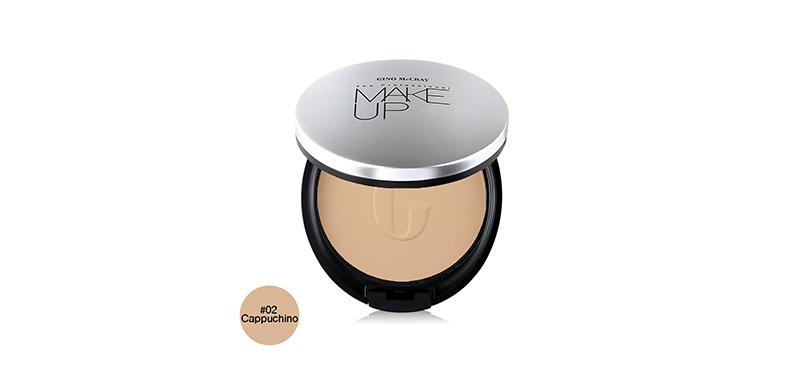 Beauty Buffet Gino Mccray The Professional Make Up Extreme Full Coverage Powder Foundation 11g #02 Cappuchino