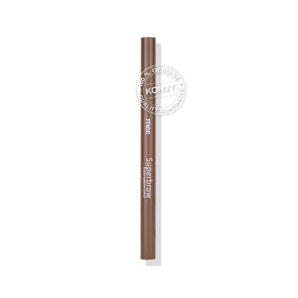 Mee Superbrow Auto Eyebrow Pencil  # 02 Natural Brown