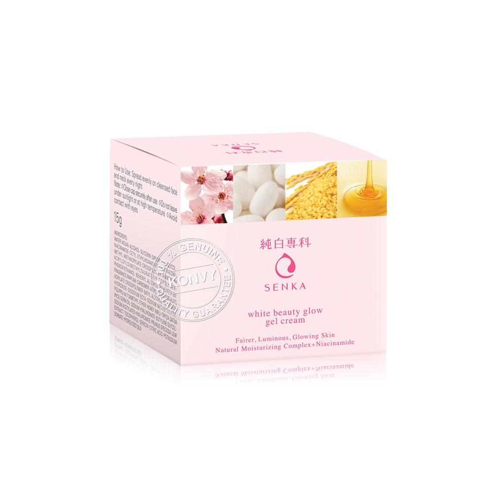 Senka White Beauty Glow Gel Cream 15g