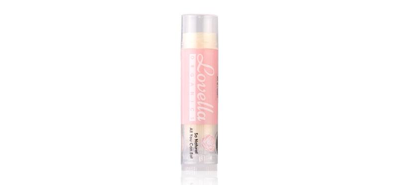 Lovella Organics Rose Cupcake Lip Treatment 5g