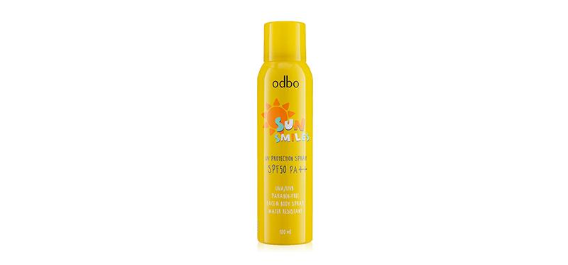 ODBO Sun Smiles UV Protection Spray SPF50/PA++ 100g #OD 1201
