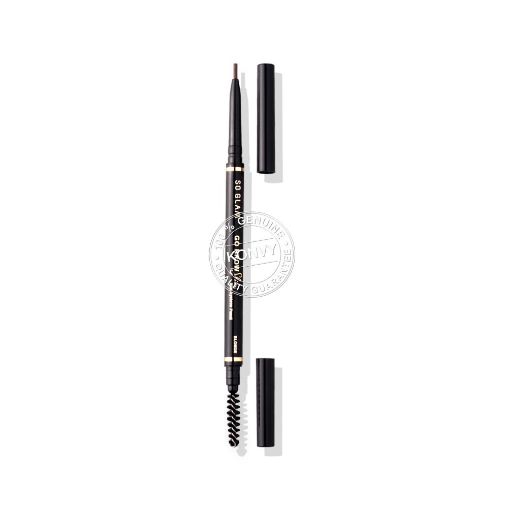 So Glam Go Brow Slim Slim Eyebrow Pencil 0.27g #04 Blonde