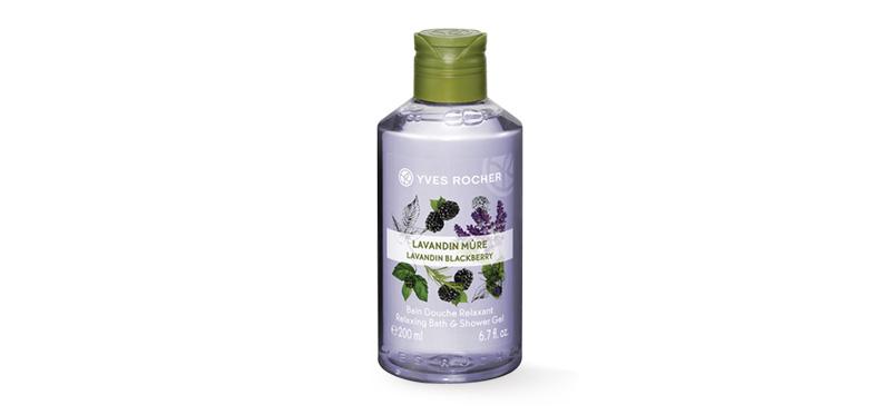 Yves Rocher  Relaxing Lavender & Blackberry Shower Gel 200ml