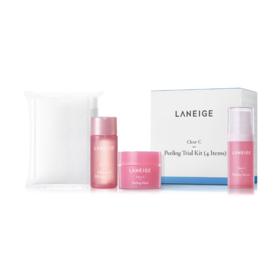 ฟรี! Laneige Clear-C Peeling Trial Kit (4 Items) (1 ชิ้น / 1 ออเดอร์) เมื่อช้อปสินค้า Laneige ครบ 2000.-
