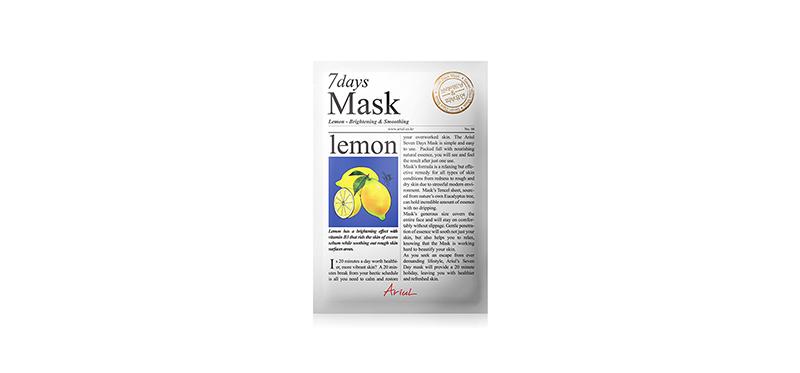 Ariul 7 Days Mask Lemon 20g