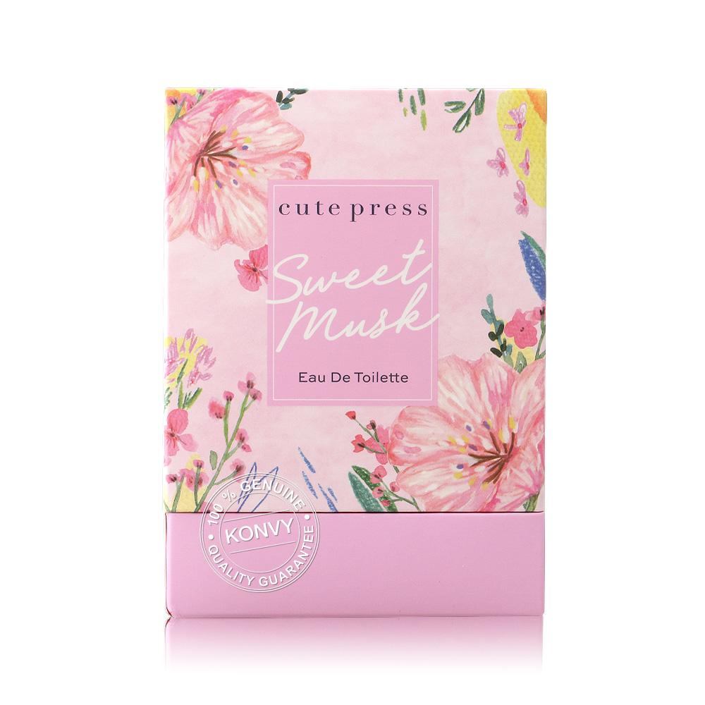 Cute Press Sweet Musk Eau De Toilette  60ml