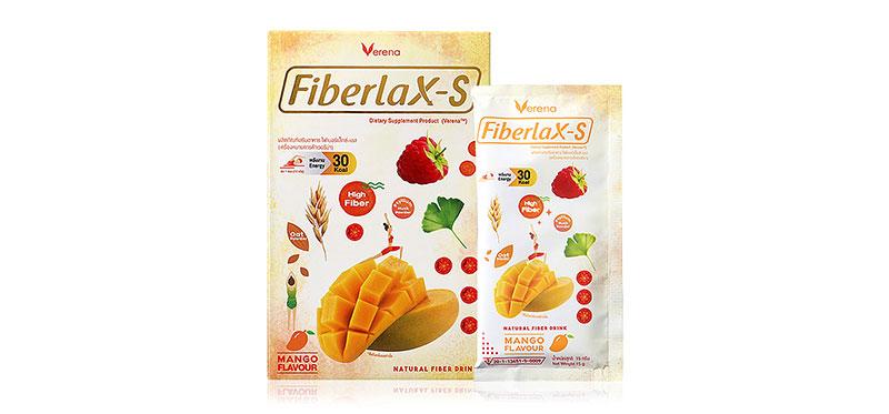 Verena Fiberlax-S Mango Flavour 10 Sachets