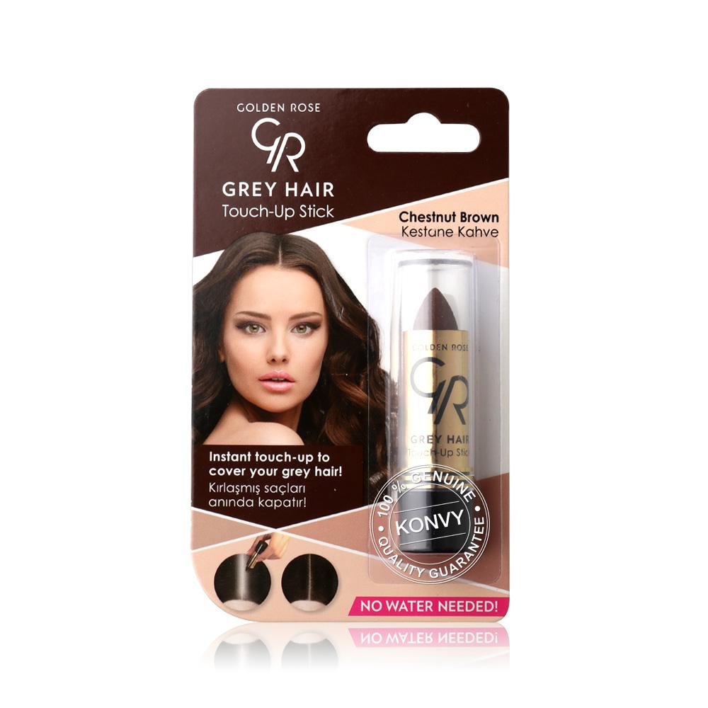 Golden Rose Grey Hair Touch-Up Stick 5.2g #07 Chestnut Brown