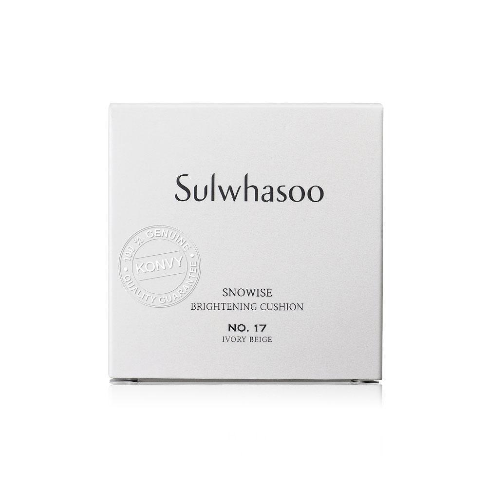 Sulwhasoo Brightening Cushion #17 Ivory Beige