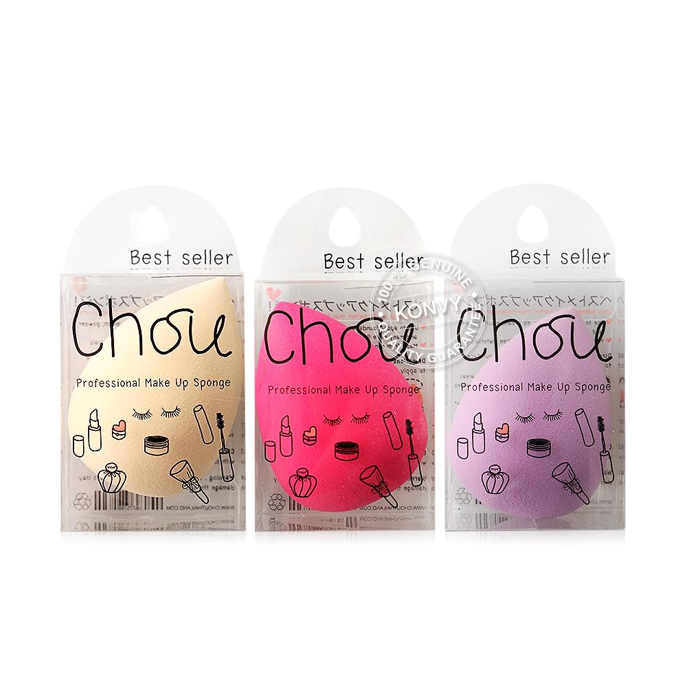 Chou Professional Make Up Sponge 1pcs (Random Color)