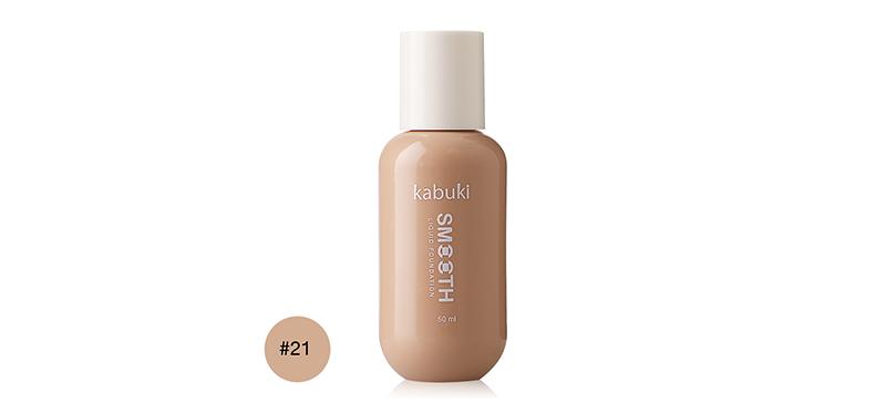 Kabuki Smooth Liquid Foundation 50ml #21