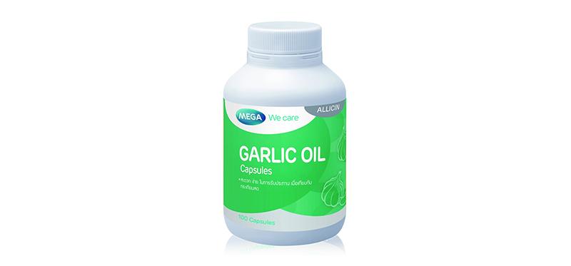 Mega We Care Garlic Oil 100 Capsules