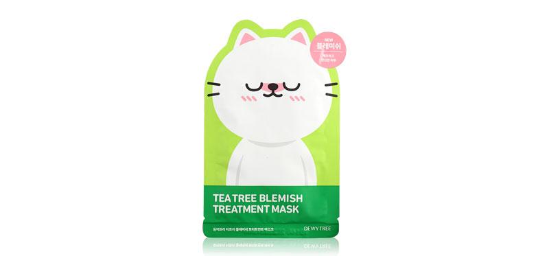 Dewytree Tea Tree Blemish Treatment Mask (Dingo Character) 25g