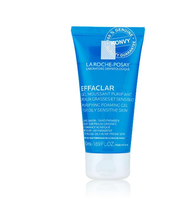 [ซื้อ1แถม2] La Roche Posay Effaclar Duo+ 40ml (Free! Serozinc 50ml + Effaclar Purifying Foaming Gel50ml)