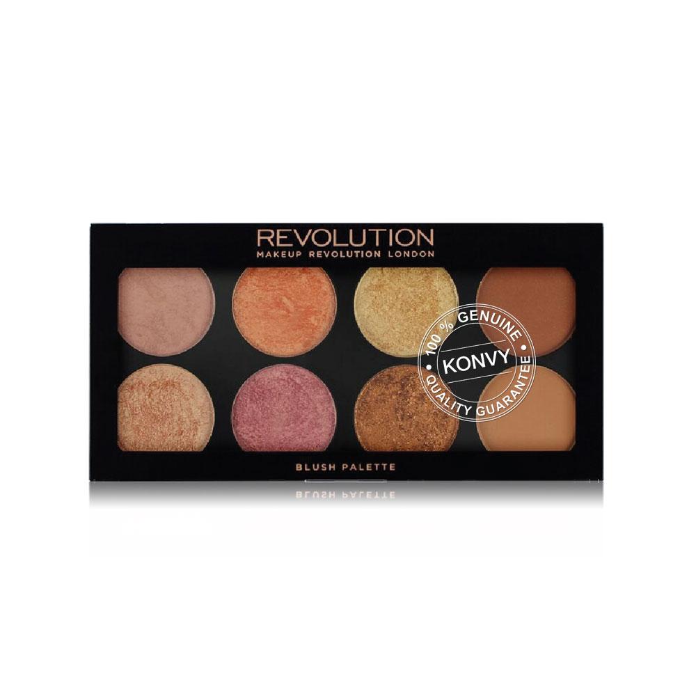 Makeup Revolution Ultra Blush Palette #Golden Sugar 2 Rose Gold