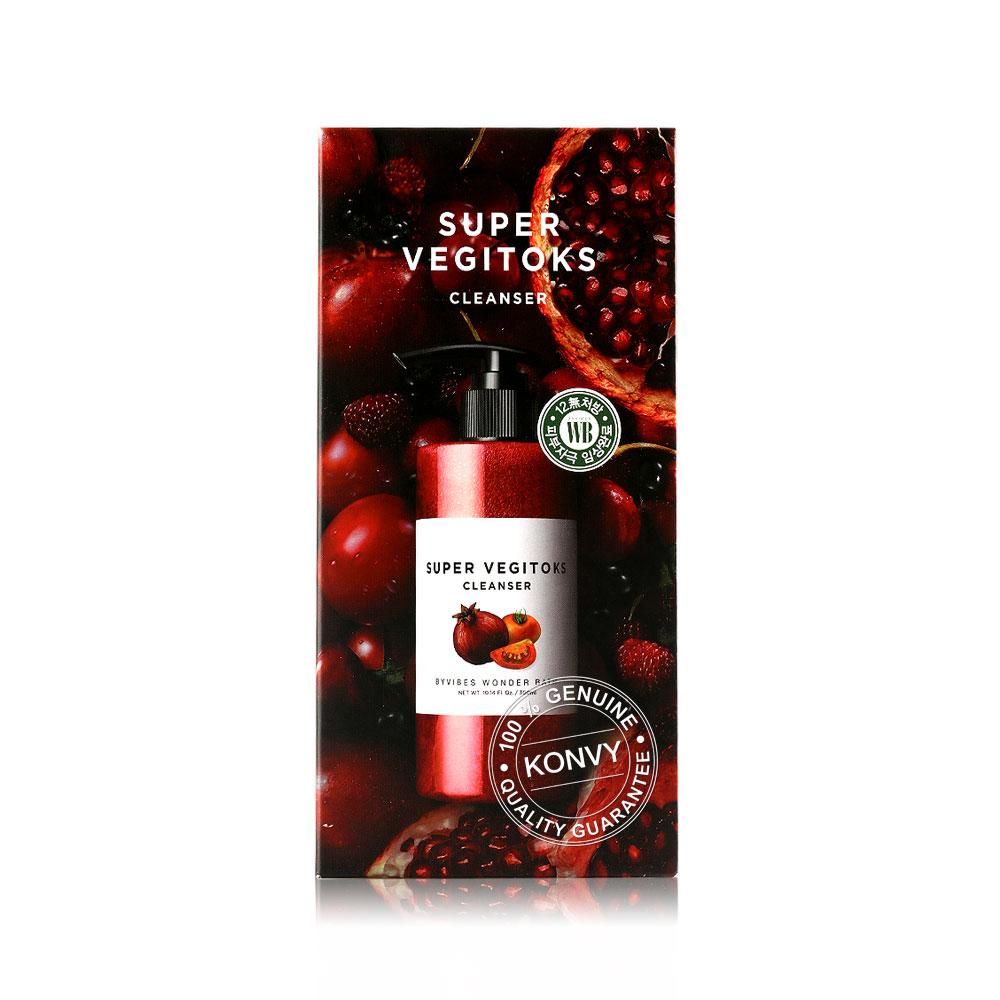Wonder Bath Super Vegitoks Cleanser 300ml (Red)
