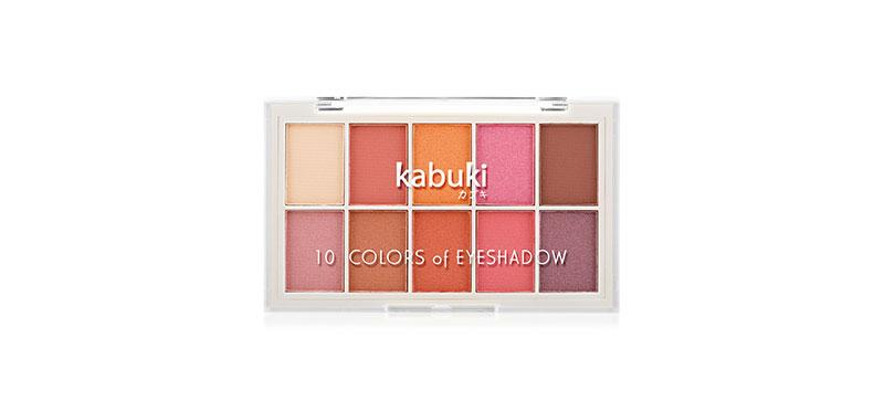 Kabuki 10 Colors of Eyeshadow 10g #02