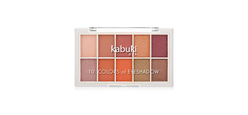 Kabuki 10 Colors of Eyeshadow 10g #03