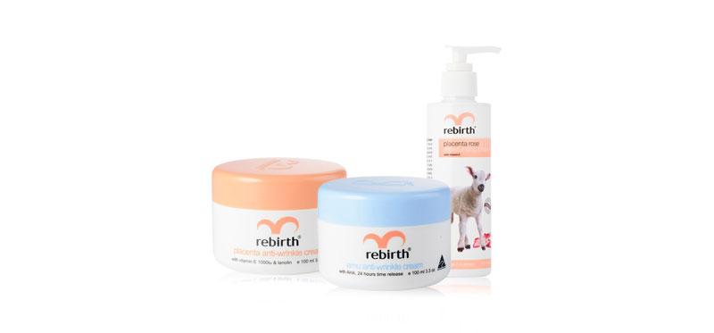 Rebirth Placenta & Emu Anti-Wrinkle Set (100ml x 2pcs) (Free! Body Lotion 200ml)