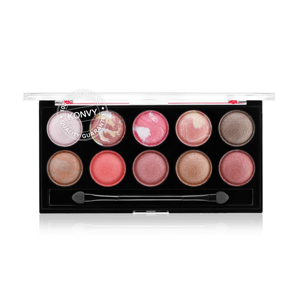 Kabuki 10 Color Baked Eyeshadow Palette 18g #03