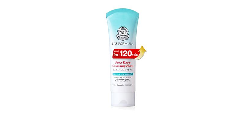 Nu Formula Pore Deep Cleansing Foam 120g
