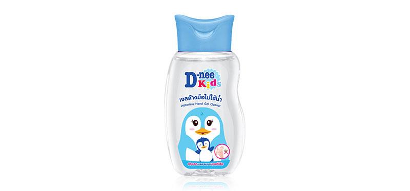 เจลแอลกอฮอล์ D-nee Kids Waterless Hand Gel Cleaner 93ml ( สินค้าหมดอายุ : 2022.04 )