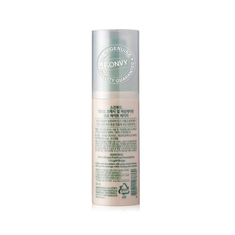 Skinfood White Grape Fresh Up Foundation 30ml #13 Light Beige