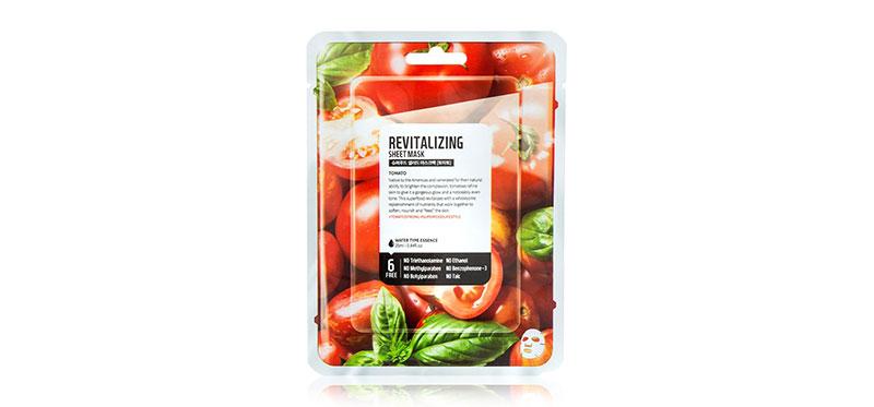 FARM SKIN Superfood Salad Facial Tomato Sheet Mask 25ml