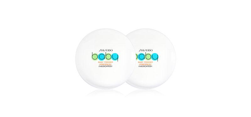[แพ็คคู่] Shiseido Baby Powder Pressed Medicate [50g x 2pcs]